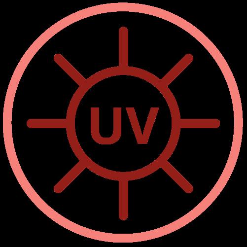 Medizinische Maske UV-behandelt